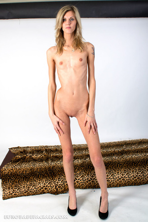 Blue-eyed blonde skinny beauty swallowin - XXX Dessert - Picture 6