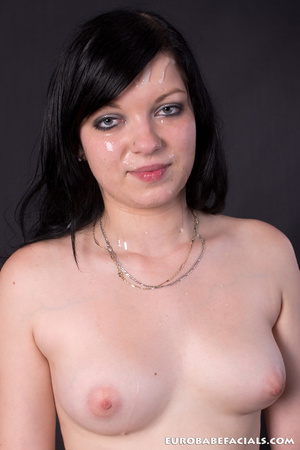 This randy black haired slut just loves  - XXX Dessert - Picture 15