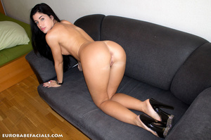 Hot black haired beauty with gorgeously  - XXX Dessert - Picture 10