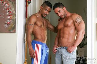 italian muscular tattooed dudes
