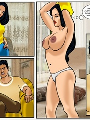 Indian whore Veena gets mouthful of hot sperm after - Picture 7