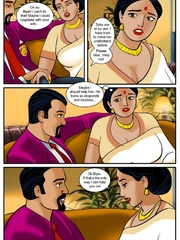 Curvy Indian MILF getting banged variously by her - Picture 3