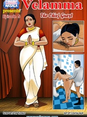 Curvy Indian MILF getting banged variously by her - Picture 7