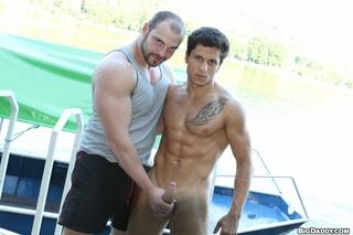 muscular dudes