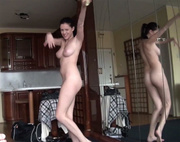 big-titted ponytailed teen give