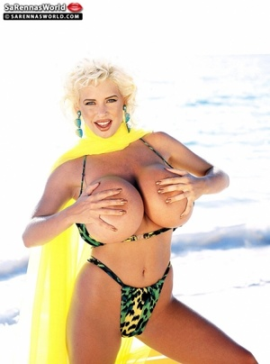 Naughty blonde milfs with insanely huge  - XXX Dessert - Picture 3