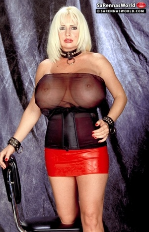 Naughty blonde milfs with insanely huge  - XXX Dessert - Picture 11