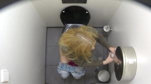 Skinny beauties getting spied on in the toilet. - XXXonXXX - Pic 4