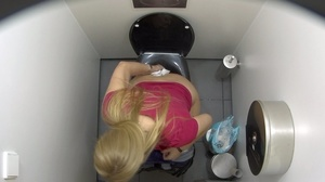These gorgeous babes are getting spied on in the toilet. - XXXonXXX - Pic 4