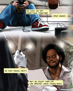 Cool adult comics with huge black guy - Cartoon Sex - Picture 2