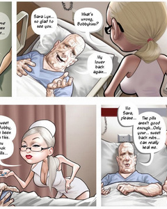 Old dying boy having an awesome sex with - Cartoon Sex - Picture 2