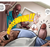 Hot adult comics about slutty blonde nurse and her adventures