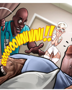 Hot adult comics about slutty blonde nurse - Cartoon Sex - Picture 3