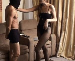 Horny madams in sexy lingerie torturing  - XXX Dessert - Picture 3