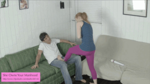 Two horny babes jeering and fucking an e - XXX Dessert - Picture 11