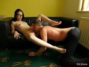 Nasty brunette chick having much fun wit - XXX Dessert - Picture 5