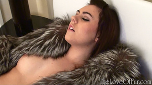 Two lesbian babes in nice fur coats fond - XXX Dessert - Picture 8