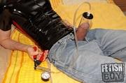 dirty gay pumping his