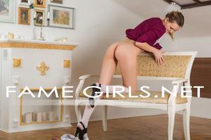 Mischievous teen blondie Monica pretendi - XXX Dessert - Picture 2