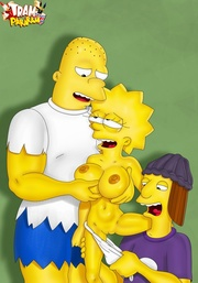 Remarkable, twins on the simpsons nude are not