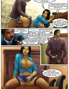 An Indian secretary seduces her bosses at the firm, she quivers with more