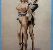 Horny naughty girls loved to get spanked, tied up and given sexual pain