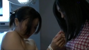 Hot Asian nurse in pink uniform licking her patient's hairy snatch - XXXonXXX - Pic 5