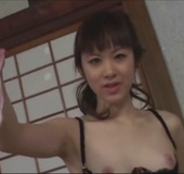 Very hot Asian Mistress uses various bondage styles to torture her masked