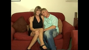 Lovely fair-haired housewife in stockings fucking with her boss - XXXonXXX - Pic 6