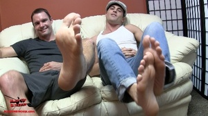 Hot guys with gorgeous feet making each  - XXX Dessert - Picture 7
