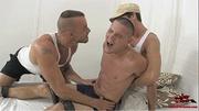 muscular hot guys making
