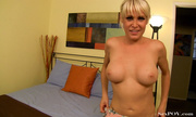 blonde milf hottie loves