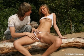 oral, outdoors, sex, teen