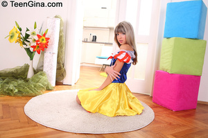 Slutty teen in Snow White's dress fucks  - XXX Dessert - Picture 6