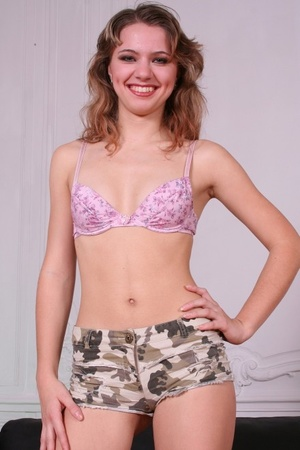 The hottest teen gals posing in sexy lingerie at castings - XXXonXXX - Pic 2