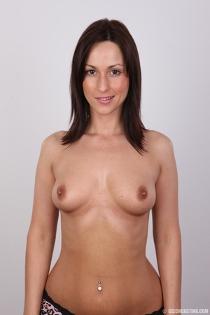 Hot brunette with sexy full hips, soft b - XXX Dessert - Picture 11