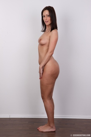 Hot brunette with sexy full hips, soft b - XXX Dessert - Picture 15