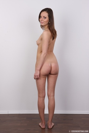 Slim and sexy young brunette chick with  - XXX Dessert - Picture 17