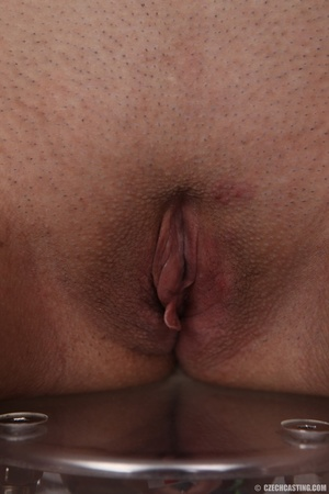 Young brunette shows off sexy small tits - XXX Dessert - Picture 20