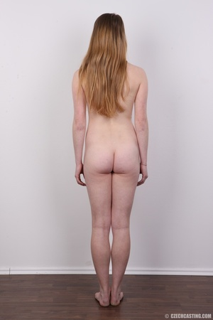Shy young blonde reveals enticing small  - XXX Dessert - Picture 16