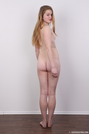 Shy young blonde reveals enticing small  - XXX Dessert - Picture 18