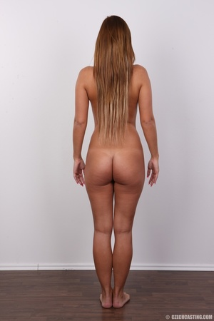 Sexy shaped brunette with cute tattoos d - XXX Dessert - Picture 16