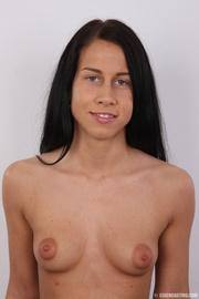black hair slim damsel