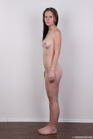 Young petty brunette with round butt, bo - XXX Dessert - Picture 15
