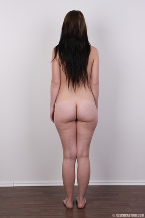 Young petty brunette with round butt, bo - XXX Dessert - Picture 16