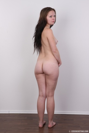 Young petty brunette with round butt, bo - XXX Dessert - Picture 17