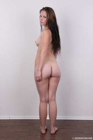 Young petty brunette with round butt, bo - XXX Dessert - Picture 18