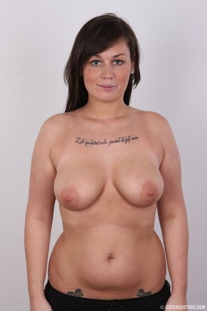 Sexy chubby big tits curvy chick shows b - XXX Dessert - Picture 11