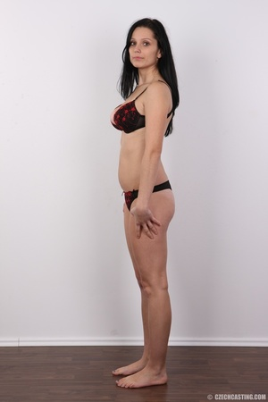 Sexy black haired chick with big boobs,  - XXX Dessert - Picture 8