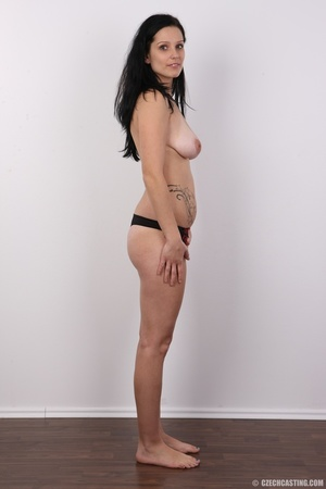 Sexy black haired chick with big boobs,  - XXX Dessert - Picture 10
